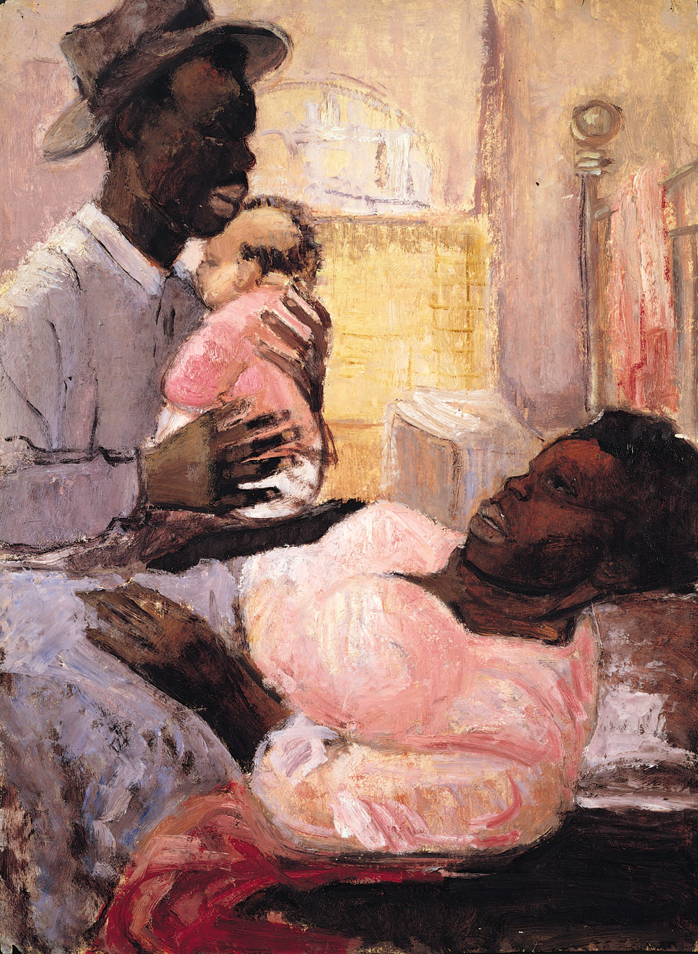 Couple With Infant c.1956