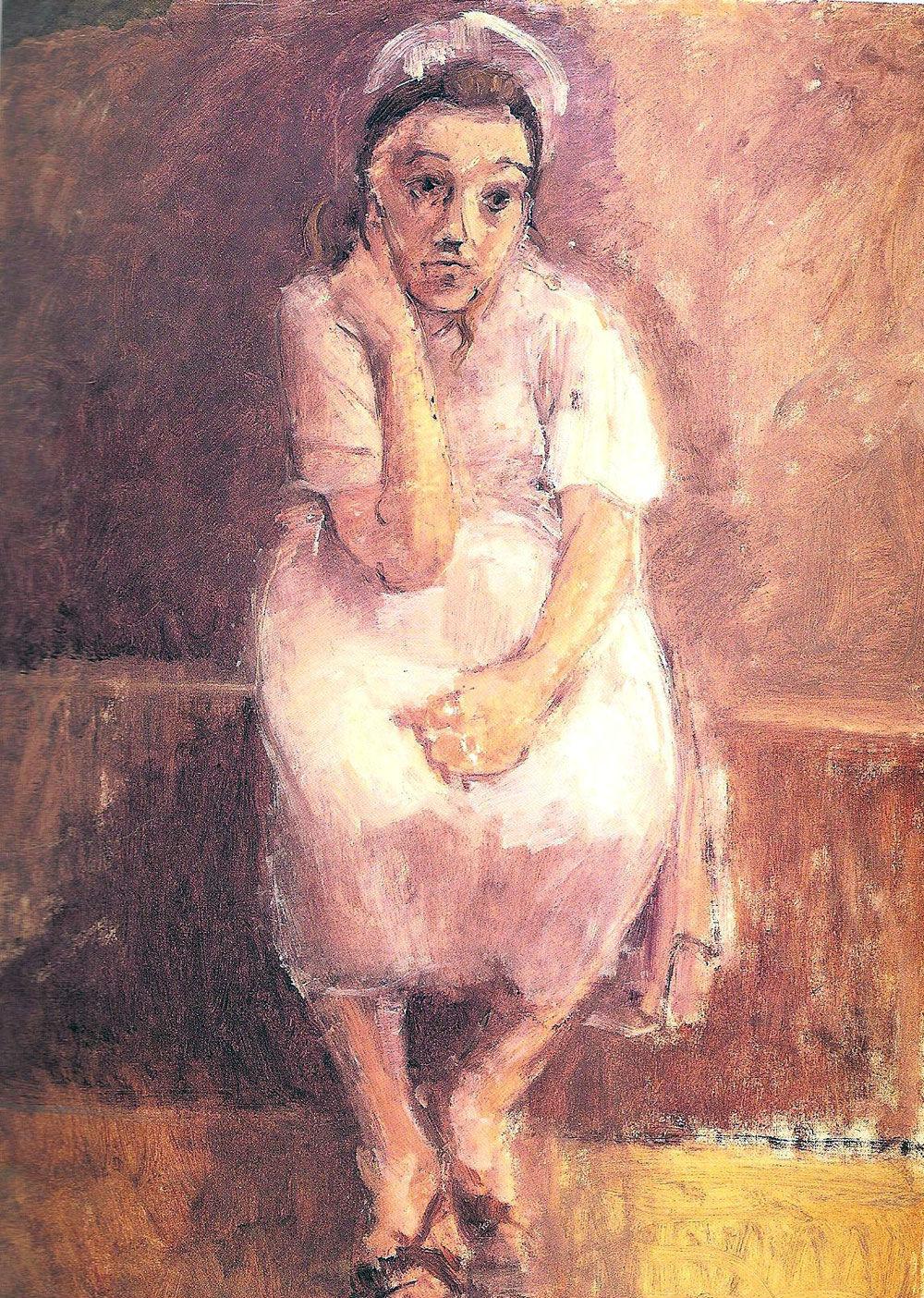 Waitress Resting c. 1955