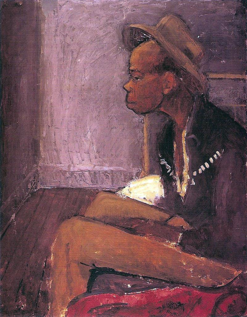 Black Man Seated